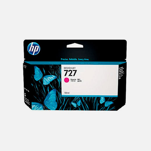 B3P20A - Cartuccia HP 727 Magenta 130 ml