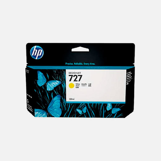 B3P21A - Cartuccia HP 727 Giallo 130 ml