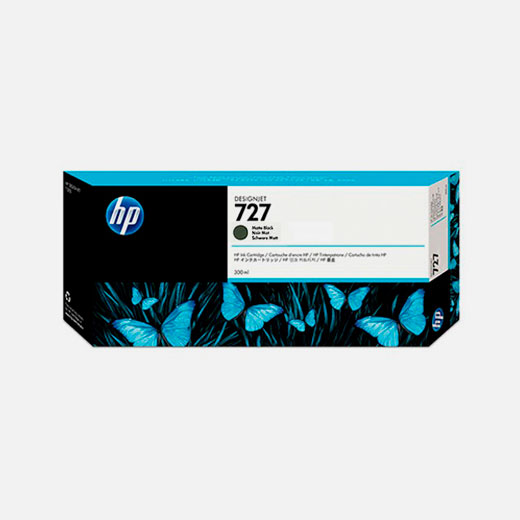 C1Q12A - Cartuccia HP 727 Nero opaco 300 ml