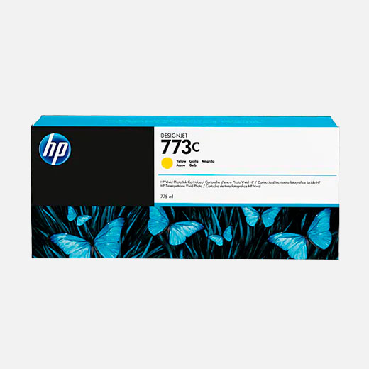C1Q40A - Cartuccia HP 773 Giallo 775 ml