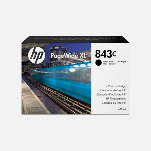 C1Q65A - Cartuccia HP 843C Nero 400 ml