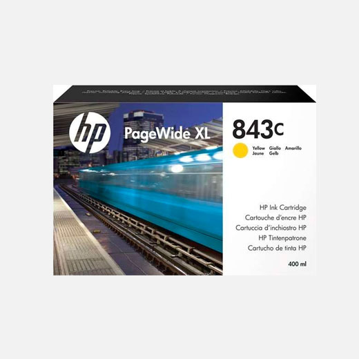 C1Q68A - Cartuccia HP 843C Giallo 400 ml