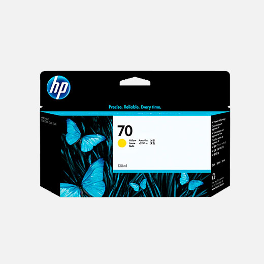 C9454A - Cartuccia HP 70 Giallo 130 ml