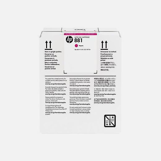 CR332A - Cartuccia HP 881 Magenta 5 lt