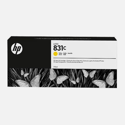CZ697A - Cartuccia HP 831C Giallo 775 ml