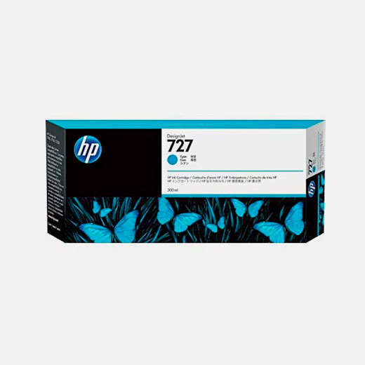 F9J76A - Cartuccia HP 727 Ciano 300 ml