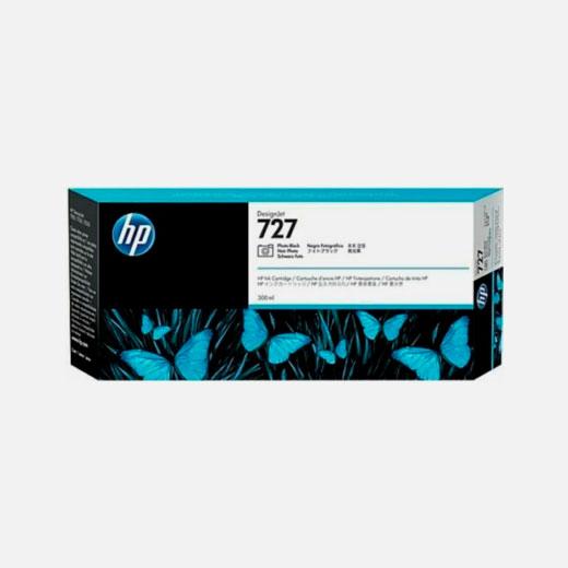 F9J79A - Cartuccia HP 727 Nero photo 300 ml