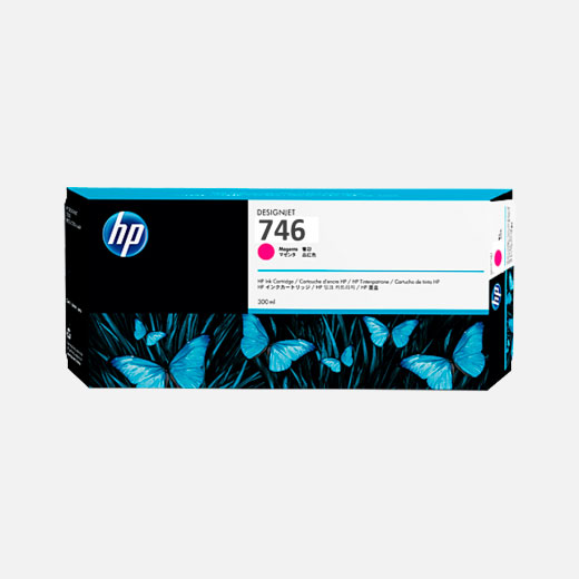 P2V78A - Cartuccia HP 746 Magenta 300 ml
