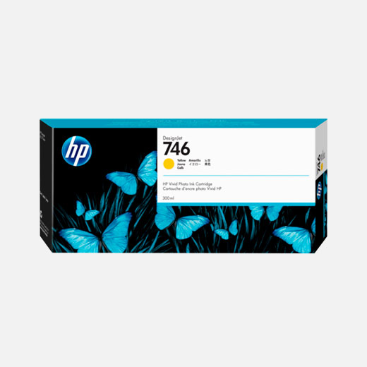 P2V79A - Cartuccia HP 746 Giallo 300 ml