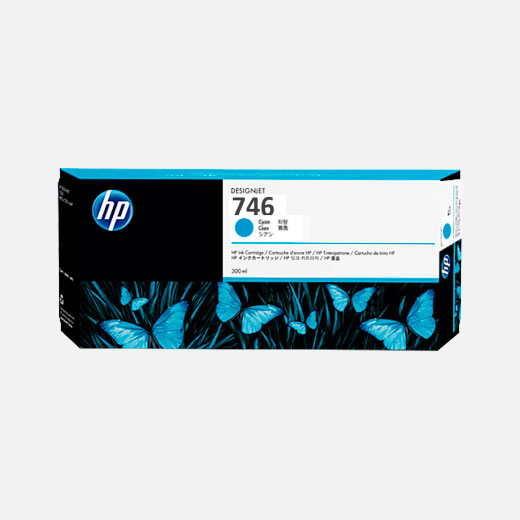 P2V80A - Cartuccia HP 746 Ciano 300 ml