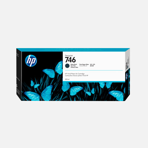 P2V83A - Cartuccia HP 746 Nero Opaco 300 ml