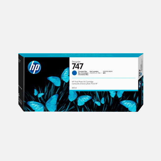 P2V85A - Cartuccia HP 746 Blu cromatico 300 ml