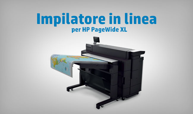 Impilatore in linea per PageWide XL