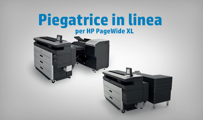 Piegatrice in linea per PageWide XL
